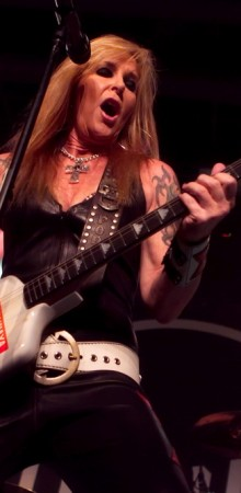 Lita Ford Living Like a Runaway @ Vinyl 2014