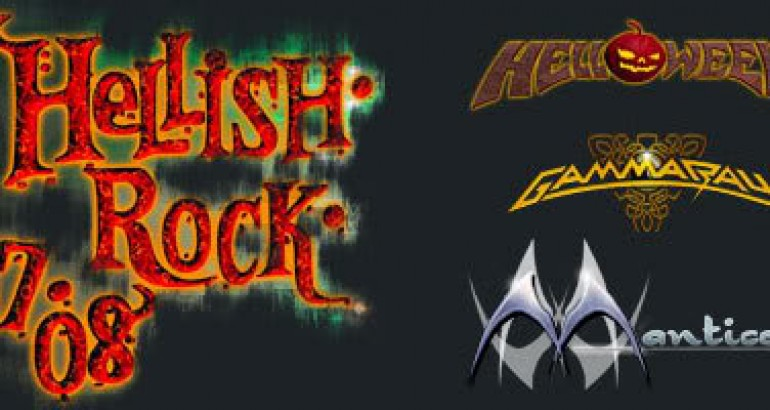 HELLISH ROCK TOUR FEAT-HELLOWEEN,GAMMA-RAY, AND MANTICORA