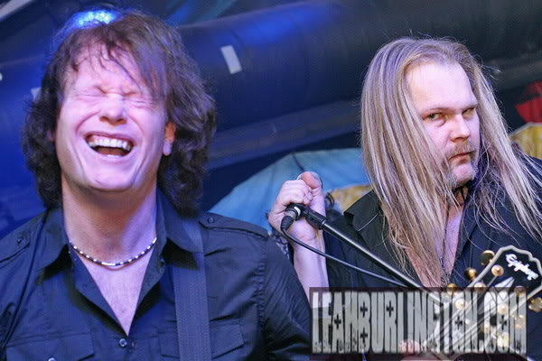 "Tor and Jorn just rockin it and Jorn givin me the ""look""....ok what did I do man??? LOL!"