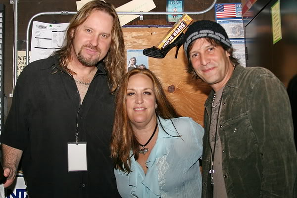 Eric Norlander,Lana Lane and Jay Schellen of Rocket Scientists