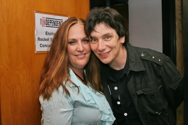 Lana lane andguest star Eric Martin (Mr.Big)
