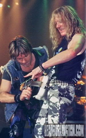 Bruce and Janick cutting up!!!